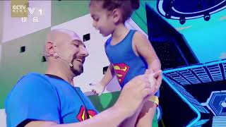 Impossible Challenge accomplished by the 4 years old Gymnastics Boy Arat Hosseini from Iran!
