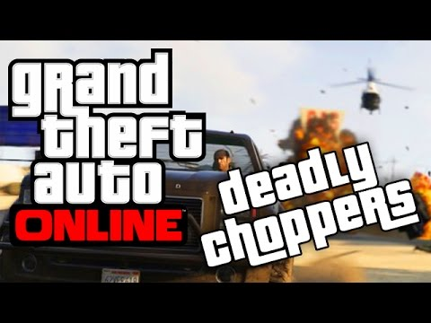 GTA 5 | Funny Moments | Trucks and Bikes are Fun but Choppers are Deadly!