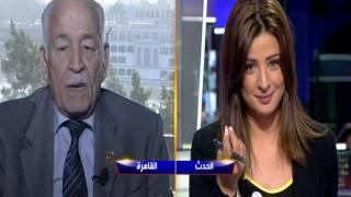 اللواء الدكتور ممدوح عطية يتغزل بمذيعة قناة الحدث ريم بوقمرة