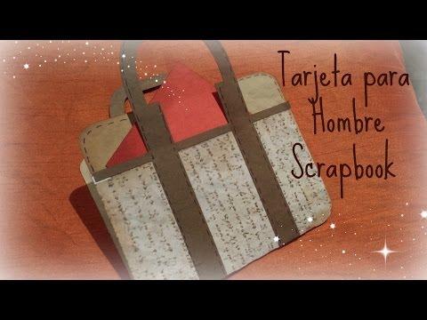 Download video tarjeta para hombres manualidades scrapbook - Manualidades para chicos ...
