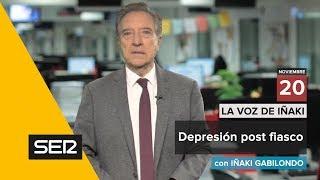 Depresión post fiasco. (Videoblog 'La voz de Iñaki')