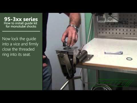 Emmetec 95-3xx: how to install guide kit for monotube shocks