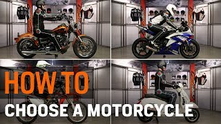 Motorcycle Types for Beginners - How to Choose at RevZilla.com