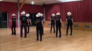 AMAZING GRACE Line Dance (Dance & Teach in French)