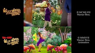 Tom & Jerry: Willy Wonka (2017)/Willy Wonka and the Chocolate Factory (1971) Side-by-Side