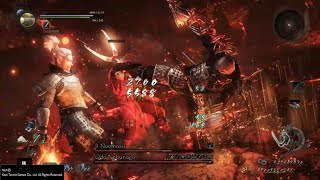 Nioh: Abyss Floor 300 - Oda Nobunaga/Ii Naomasa (No Living Weapon/Magic/Ninjutsu)