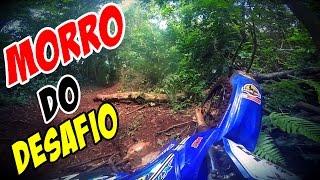 ▶Trilha de Moto Jurassic - XTZ 125 SUBINDO MORRO DO DESAFIO COM AS IMPORTADAS?
