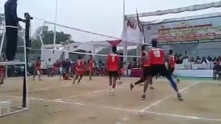 LONGEST VOLLEYBALL RALLY!! ONGC VS CRPF!!  VOLLEYBALL CHAMPIONSHIP!!