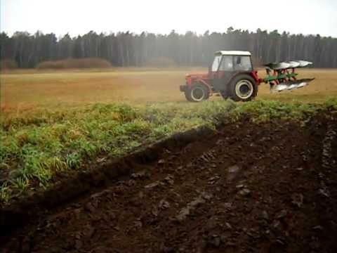 Zetor 7745 & Kverneland ORKA 2011 2012