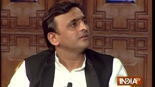 UP Chief Minister Akhilesh Yadav in Aap Ki Adalat 2016 - Chunav Manch
