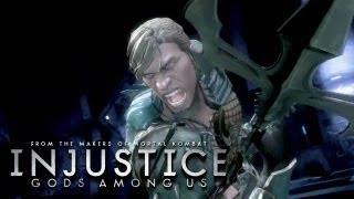Injustice: Gods Among Us - 'Aquaman vs Green Lantern Gameplay' TRUE-HD QUALITY