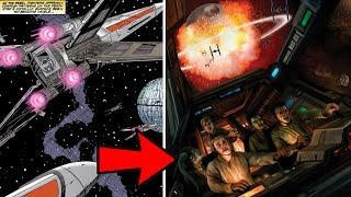 How Imperial Defectors Escaped the Death Star During the Battle of Yavin | Star Wars Legends