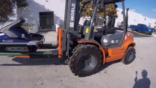 Small Craft Forklift Handler