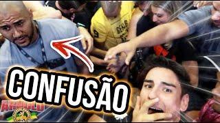 CONFUSÃO NA ARNOLD 2018   FAMOSO POR 1 DIA