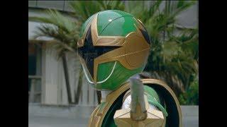 Green Samurai Ranger's First Morph and Battle | Power Rangers Ninja Storm