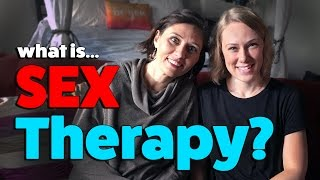 What is SEX THERAPY?  mental health advice with Therapist Kati Morton & Sexologist Dr. Doe