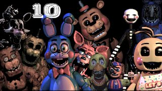 Top 10 Five Nights at Freddy's Monsters