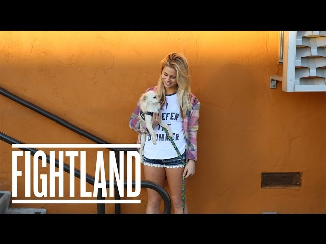 At Home with UFC Strawweight Paige VanZant: Moving Portraits
