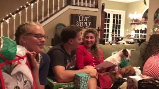 Christmas Pregnancy Announcement - 2016