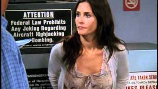 "Courteney Cox and Matthew Perry Friends ""TOW Rachel Tells"" Deleted Scene"