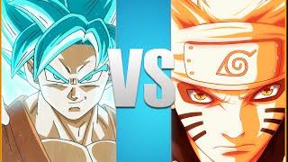 Goku VS Naruto | Full Battle! [Animation]
