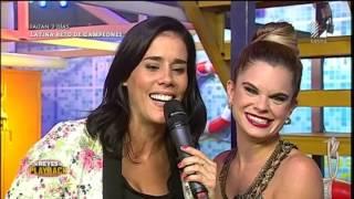 ¡Cristian Rivero fue sorprendido por Gianella Neyra en vivo!