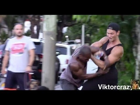 CRAZY RUSSIAN ASKS BLACK PEOPLE WHERE IS NIGGA ENDED UP IN FIGHT SOCIAL EXPERIMENT IN THE HOOD