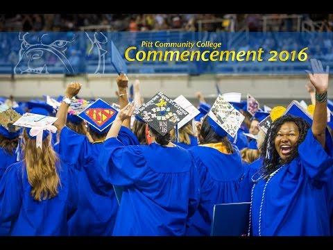 Commencement 2016 (Full Ceremony)   Pitt Community College