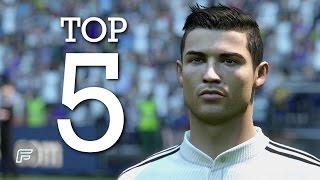 Cristiano Ronaldo - Top 5 Goals for Real Madrid 2014/15 (FIFA 15 Remake)