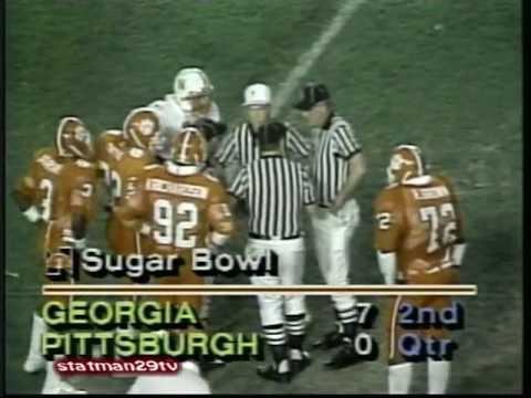Nebraska vs Clemson 1981 National Championship 1982 Orange Bowl
