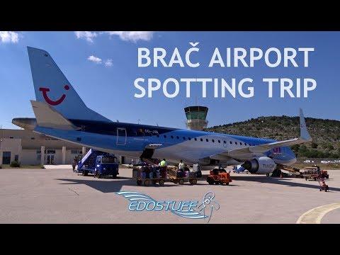 Brač Airport LDSB/BWK Spotting Trip - Croatia HD