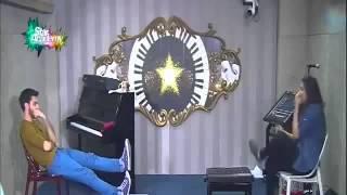 حصة المسرح مع بيتي مشهدي حب وكره بين ايلي وشيرين  الثلاثاء 21 اكتوبر 2014