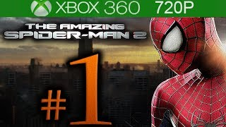 The Amazing Spider-Man 2 Walkthrough Part 1 [720p HD] - No Commentary - The Amazing Spiderman 2
