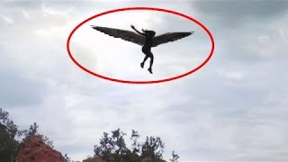 Angels Caught On Tape Flying