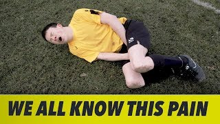 GETTING HIT IN THE **** PLAYING FOOTBALL