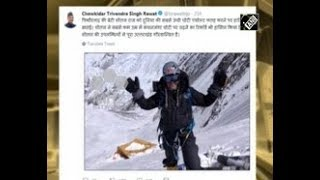 India News - 23-year-old mountaineer from northern India scales Mt. Everest