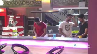 ليث أبو جودة يطبخ لزملائه - ستار اكاديمي 10 - Laith Abu Joda