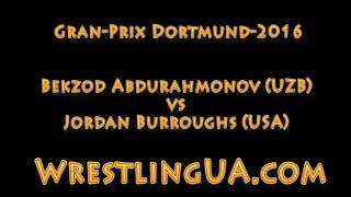 Бекзод Абдурахмонов - Джордан Барроуз   Bekzod Abdurahmonov - Jordan Burroughs Dortmund-2016