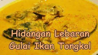 Hidangan Lebaran Gulai Ikan Tongkol  Nikmat Praktis