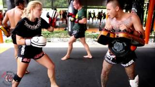 Queen's Cup Muay Thai Training