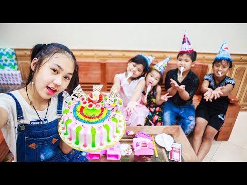 Xxx Mp4 Kids Go To School Day Birthday Of Chuns Children Make A Birthday Cake In Store With Friends 3gp Sex