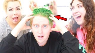 I SAID YES TO EVERYTHING FOR 24 HOURS! They made me dye my hair?!