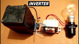 Simplest Inverter Ever 12V to 220V AC - dc to ac converter diy