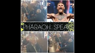 CONOR MCGREGOR PUNCHES OLD MAN IN IRISH PUB AFTER HE TURNS DOWN A DRINK?