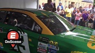 Kids Go Wild Over NASCAR Driver's Engine Revs | OnScene | ESPN
