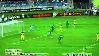 Mali Vs Nigeria - Semi Final CAF 2013