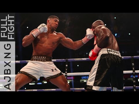 Full Fight Anthony Joshua Vs Carlos Takam TKO