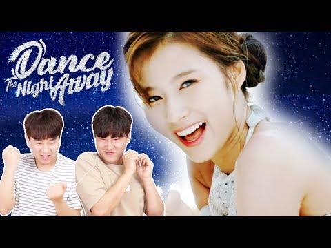 트와이스 신곡  Dance The Night Away 뮤비 리액션 (20대 남자들의 리얼반응ㅋㅋㅋㅋ) *신남 주의
