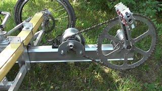 DIY Pedal Generator for Electric Bike or Trike