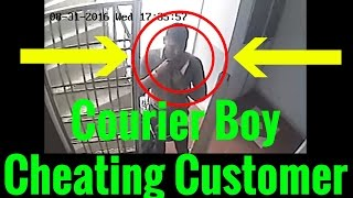 Delivery Boy Caught Cheating Customer